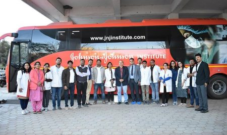 Johnson and Johnson Institute on Wheel Skill Lab and Basic Surgical Skill Training