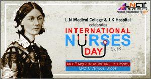 international nurses day- LNCTU