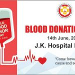 blood donation-J.K. Hospital