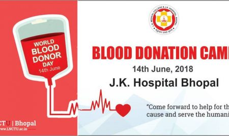 Blood Donation Camp | L.N. Medical College & JK Hospital
