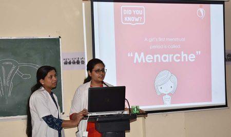 World Menstruation Day celebrated at LN Medical College & JK Hospital