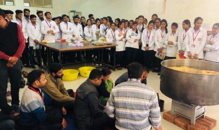 Making Chyawanprash In L N Ayurved College & Hospital