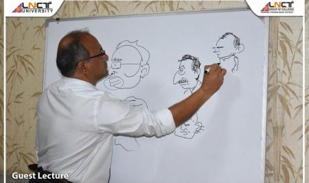A Dialogue Session with Cartoonist Mr. Irfan
