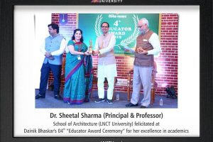 Awarded at Dainik Bhaskar