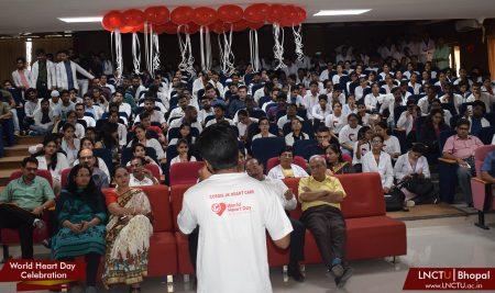 JK Hospital & LN Medical College Celebrated World Heart Day 2018