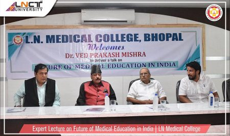 Expert Lecture on Future of Medical Education in India | LN Medical College