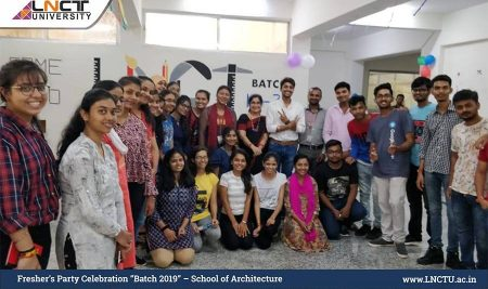 "Fresher's Party Celebration ""Batch 2019"" – School of Architecture"