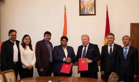 Kyrgyz National University and LNCT University signed an MOU for establishing Medical Faculty at Bishkek.