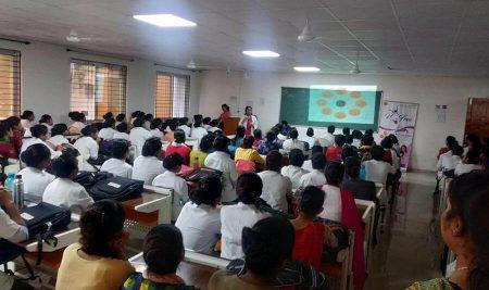 "A One Day Seminar on ""Menstrual Hygiene ""   LN Nursing College"