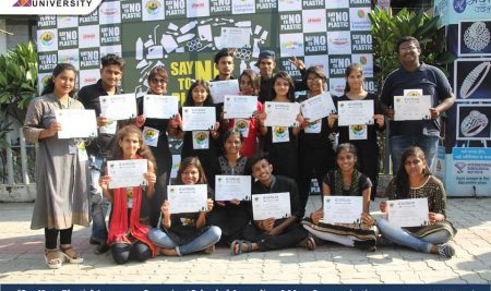 Say No to Plastic Awareness Campaign | School of Journalism & Mass Communication