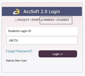 Forget Password complete process for all students