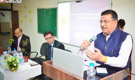 Student Interactive Session on Hospitality Industry