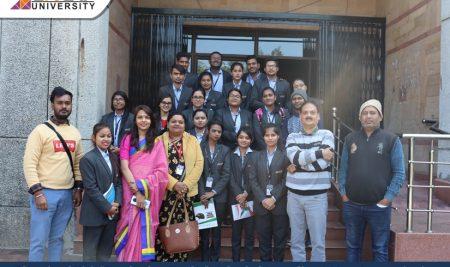 "Educational Visit ""Doordarshan Kendra"" | School of Journalism & Mass Communication"