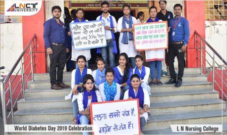 World Diabetes Day 2019 Celebation | L N Nursing College